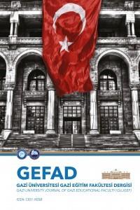 Gazi Üniversitesi Gazi Eğitim Fakültesi Dergisi