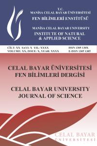 Celal Bayar University Journal of Science
