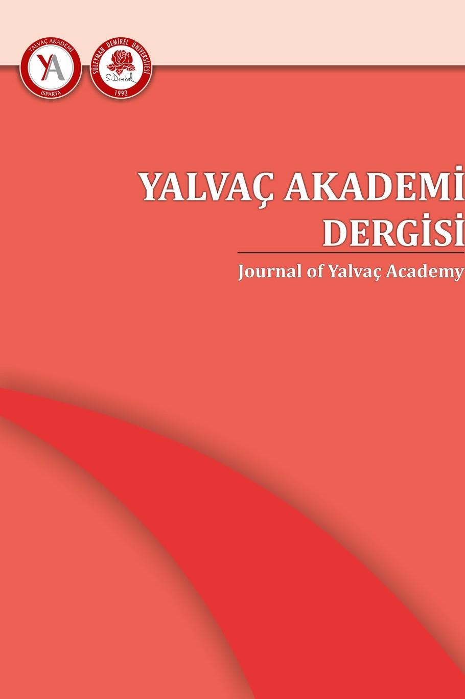 Yalvaç Akademi Dergisi