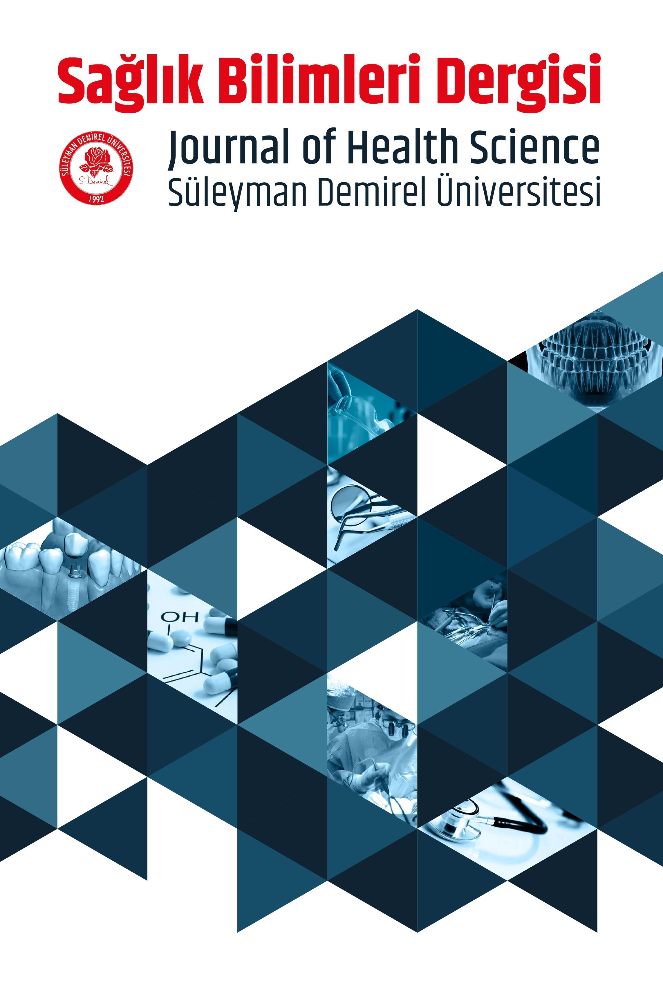 SDÜ Sağlık Bilimleri Dergisi