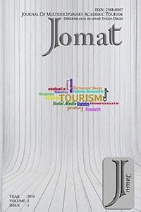 Journal of Multidisciplinary Academic Tourism