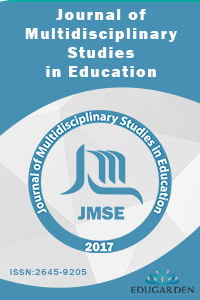 Journal of Multidisciplinary Studies in Education